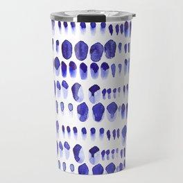 Ultra Violet Paint Splodges Travel Mug