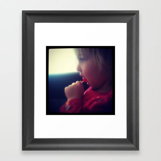 YOUTH Framed Art Print