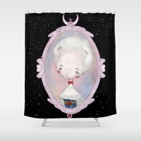 sailormoon Shower Curtains featuring ♥18th century Sailor Moon♥ by Lili Um