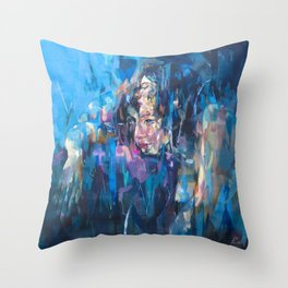 Chimera No.1 by Andres kal Throw Pillow