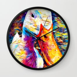American Pekin Wall Clock