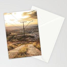 Brazilian sunset Stationery Cards