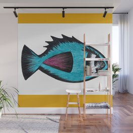 Fishie Fish Wall Mural