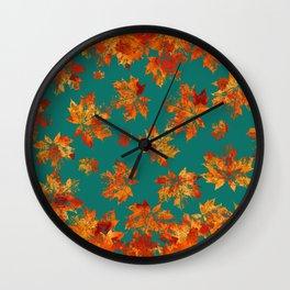 Autumn moods n.5 Wall Clock
