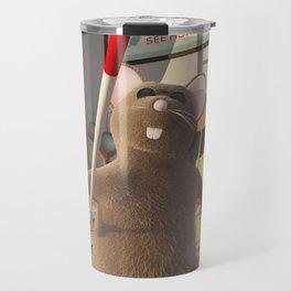 Three Blind Mice - Nursery Rhyme Inspired Art Travel Mug