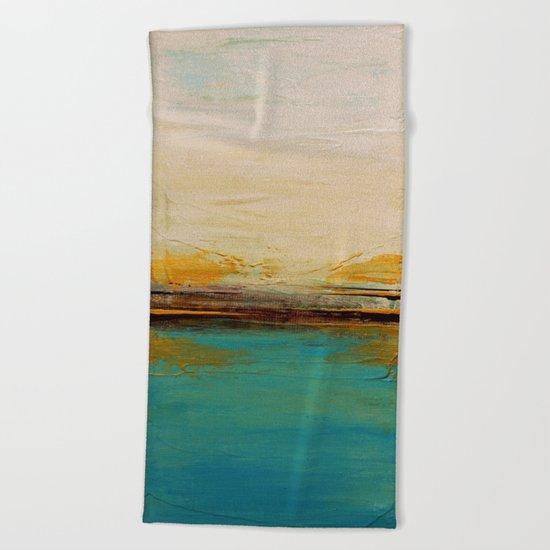 Horizon  Beach Towel