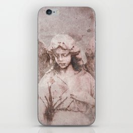 A Guardian Angel, To Watch Over Us A322b iPhone Skin