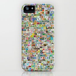 The Soccer Stamp iPhone Case