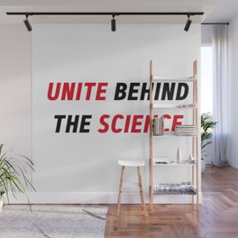 Climate Change Action Unite Behind The Science Wall Mural