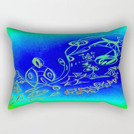 Life in the Ocean Rectangular Pillow