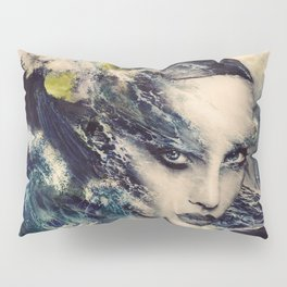 THE STORY OF A LACING WAVE Pillow Sham