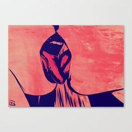 French Kiss Canvas Print