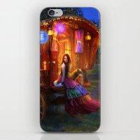 wanderlust iPhone & iPod Skins featuring Wanderlust by Aimee Stewart