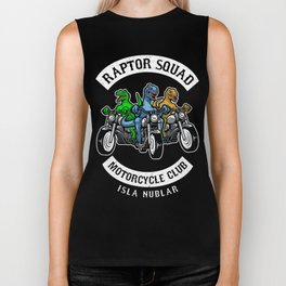 Jurassic Raptor Squad World Biker Tank