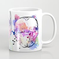 kindle Mugs featuring 127 by ALLSKULL.NET