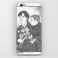 the smiths iPhone & iPod Skins featuring Sherlock as The Smiths by Stitchy