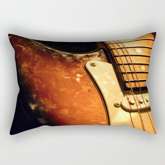 eletric guitar Rectangular Pillow