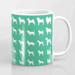 All Dogs (Mint) Coffee Mug