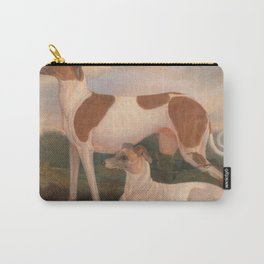 oil paintings of greyhounds Carry-All Pouch