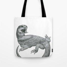 Aggressive Fantasy Creature Tote Bag