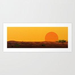 Gunumeleng Art Print