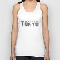 tokyo Tank Tops featuring Tokyo by Bonnie J. Breedlove