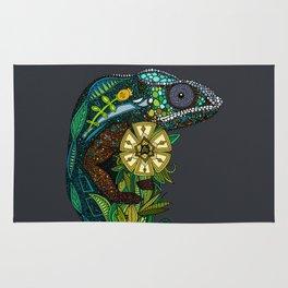 chameleon pewter Rug