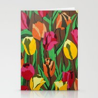 tulips Stationery Cards featuring Tulips  by Marjolein