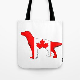 Canada English Setter Tote Bag