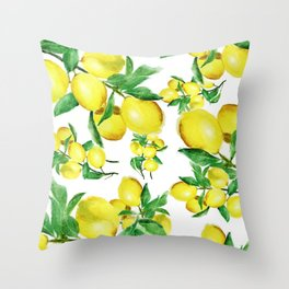 lemon Throw Pillow
