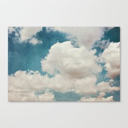 January Clouds Canvas Print