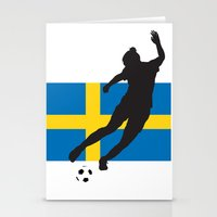 sweden Stationery Cards featuring Sweden - WWC by Alrkeaton