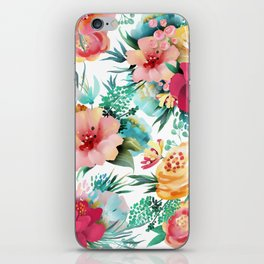 Bright and Bold Flowers iPhone Skin