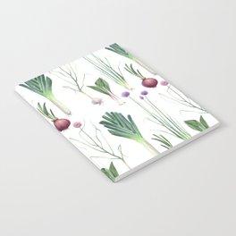 Edible Alliums Notebook