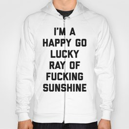 Ray Of Sunshine Funny Quote Hoody