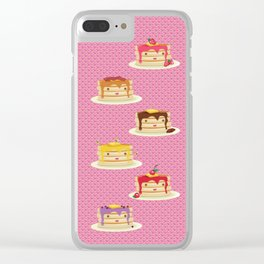 Pancakes lover Clear iPhone Case