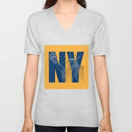You Love New York Unisex V-Neck