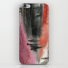 Intense - Abstract Watercolor Painting iPhone Skin