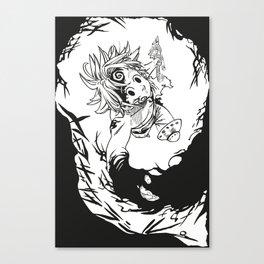 Meliodas Canvas Print