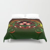metroid Duvet Covers featuring Metroid by likelikes