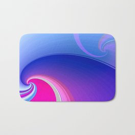 Ride the Wave (purple) Bath Mat
