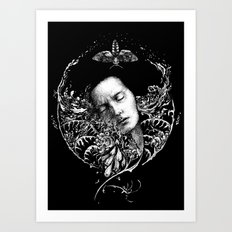 Allegory. Night. Art Print