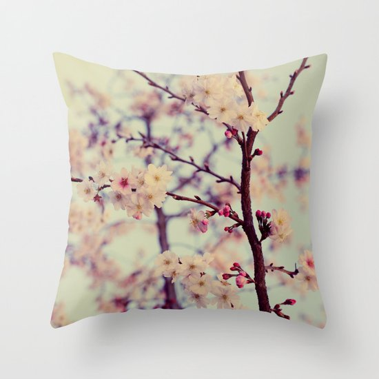 In The Air Throw Pillow