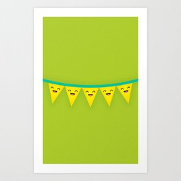 Party Banner Art Print