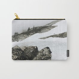 Snowy Cascade Trail Carry-All Pouch