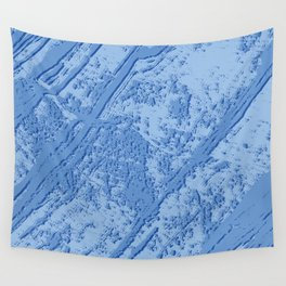 BLUE MARBLE EFFECT Wall Tapestry