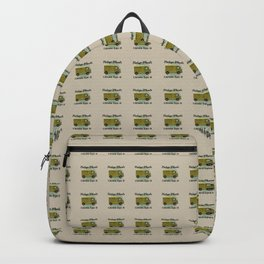 Vintage Wheels - Citroen Type H Backpack
