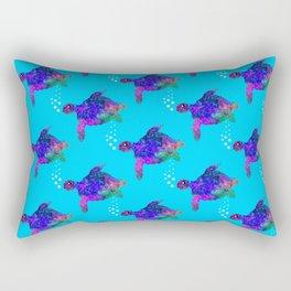 Time For Turtles Rectangular Pillow