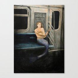 The A Train to Far Rockaway Canvas Print