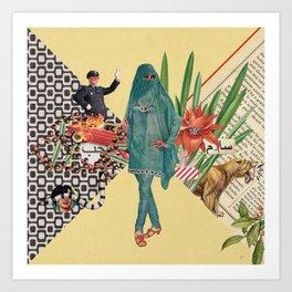 Baghdad nights Art Print
